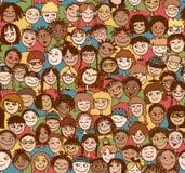 Παιδιά/παιδιά/άνευ ραφής σχέδιο Στοκ φωτογραφία με δικαίωμα ελεύθερης χρήσης