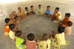 Παιδιά που παίζουν σε Andamans Στοκ εικόνα με δικαίωμα ελεύθερης χρήσης