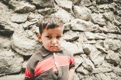 Παιδιά σε ένα χωριό στο νότο Skardu, Πακιστάν Στοκ Φωτογραφίες