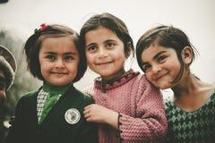 Παιδιά σε ένα χωριό στο νότο Skardu, Πακιστάν Στοκ φωτογραφία με δικαίωμα ελεύθερης χρήσης