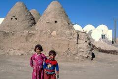 Παιδιά σε Harran, Τουρκία Στοκ Εικόνες
