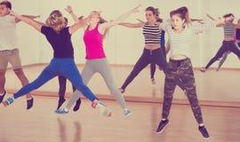 Παιδιά στην αίθουσα χορού Στοκ Εικόνα