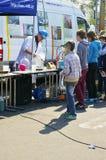 Παιδιά στη γη ημέρα 2015 Στοκ εικόνες με δικαίωμα ελεύθερης χρήσης
