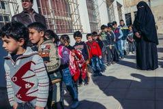 Παιδιά στο AR Ramtha Στοκ Φωτογραφίες