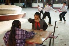 Παιδιά σχολείου στο Λάος Στοκ φωτογραφία με δικαίωμα ελεύθερης χρήσης