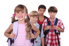 Παιδιά σχολείου Στοκ φωτογραφία με δικαίωμα ελεύθερης χρήσης