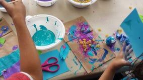 Παιδιά τέχνης στοκ φωτογραφία