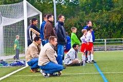 Παιδιά του παιχνιδιού BSC SChwalbach Στοκ εικόνες με δικαίωμα ελεύθερης χρήσης