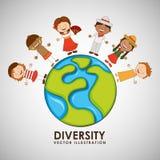 Παιδιά του worlddesign Στοκ εικόνες με δικαίωμα ελεύθερης χρήσης