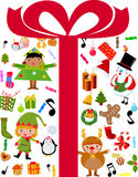 Παιδιά Χριστουγέννων Στοκ Εικόνες