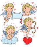 Παιδιά 2 Cupids Στοκ Εικόνες