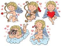 Παιδιά Cupids Στοκ Εικόνες