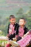 Παιδιά Hmong Στοκ φωτογραφία με δικαίωμα ελεύθερης χρήσης