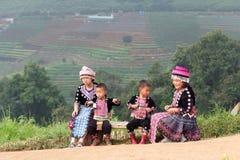 Παιδιά Hmong Στοκ Φωτογραφία
