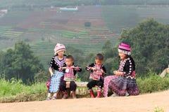 Παιδιά Hmong Στοκ φωτογραφίες με δικαίωμα ελεύθερης χρήσης