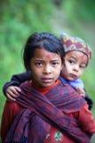 παιδιά nepalese Στοκ εικόνα με δικαίωμα ελεύθερης χρήσης