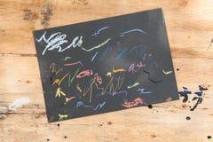 Παιδιά sketchpad Στοκ Φωτογραφίες