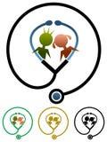 Παιδικές υγείες διανυσματική απεικόνιση