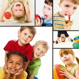 παιδική ηλικία ευτυχής Στοκ Εικόνες
