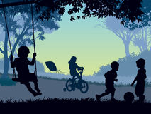 παιδική ηλικία Στοκ Εικόνα