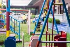 Παιδική χαρά δημοτικού σχολείου Στοκ φωτογραφία με δικαίωμα ελεύθερης χρήσης