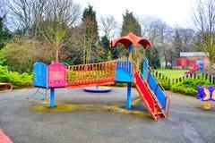 Παιδική χαρά πάρκων Στοκ εικόνες με δικαίωμα ελεύθερης χρήσης