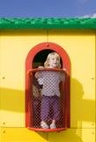 παιδική χαρά παιχνιδιού σπιτιών Στοκ φωτογραφία με δικαίωμα ελεύθερης χρήσης