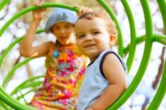παιδική χαρά παιδιών Στοκ Εικόνες