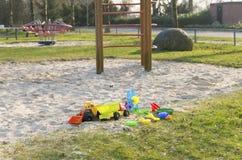 Παιδική χαρά παιδιών Στοκ εικόνες με δικαίωμα ελεύθερης χρήσης