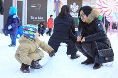 Παιδική χαρά σκι Στοκ Εικόνα
