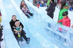 Παιδική χαρά σκι Στοκ Φωτογραφία