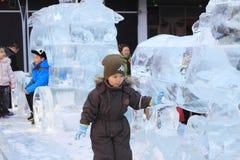 Παιδική χαρά σκι Στοκ εικόνα με δικαίωμα ελεύθερης χρήσης