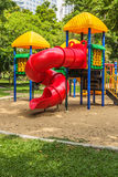 Παιδική χαρά στο πάρκο για τα παιδιά Στοκ φωτογραφίες με δικαίωμα ελεύθερης χρήσης