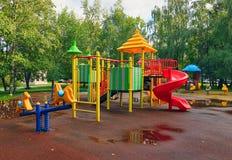 Παιδική χαρά στο πάρκο Στοκ φωτογραφίες με δικαίωμα ελεύθερης χρήσης