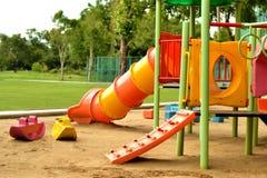 Παιδική χαρά στο πάρκο Στοκ εικόνες με δικαίωμα ελεύθερης χρήσης