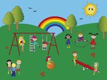 Παιδική χαρά Στοκ εικόνες με δικαίωμα ελεύθερης χρήσης