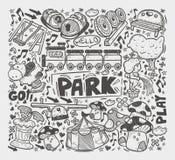 Παιδική χαρά Doodle element Στοκ εικόνες με δικαίωμα ελεύθερης χρήσης