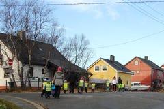 Παιδικός σταθμός για έναν περίπατο Στοκ Εικόνες