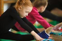 Παιδιών στον αθλητισμό Στοκ Εικόνες