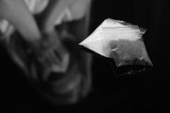 Πακέτα με τα ναρκωτικά στοκ εικόνα με δικαίωμα ελεύθερης χρήσης