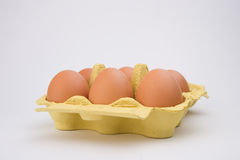 Πακέτο αυγών Chiken Στοκ Εικόνες