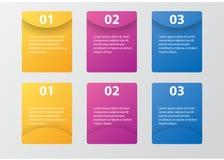 Πακέτο προτύπων Infographic που τίθεται για τις επιχειρησιακές παρουσιάσεις Στοκ Φωτογραφία