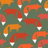 πακέτο των αλεπούδων Στοκ φωτογραφία με δικαίωμα ελεύθερης χρήσης