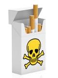 Πακέτο των τσιγάρων Στοκ φωτογραφίες με δικαίωμα ελεύθερης χρήσης
