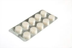 πακέτο φαρμάκων φουσκαλώ&n Στοκ φωτογραφίες με δικαίωμα ελεύθερης χρήσης