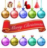 Πακέτο Χαρούμενα Χριστούγεννας Στοκ Εικόνα