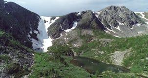 Πακιστάν: Κορυφογραμμή βουνών με ένα στρώμα του χιονιού στοκ εικόνα με δικαίωμα ελεύθερης χρήσης
