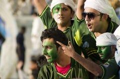 πακιστανικοί υποστηρικτές Στοκ Φωτογραφίες