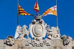 Παλάου de Λα Generalitat Βαρκελώνη Στοκ φωτογραφίες με δικαίωμα ελεύθερης χρήσης
