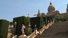 Παλάου Nacional, Βαρκελώνη, Ισπανία φιλμ μικρού μήκους